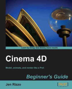 Time for action – creating a cloth object - Cinema 4D Beginner's Guide