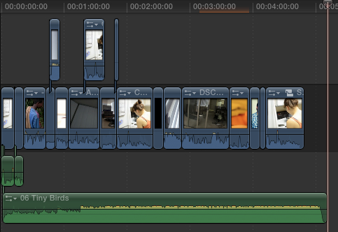 Importing music from iTunes and GarageBand - Final Cut Pro X