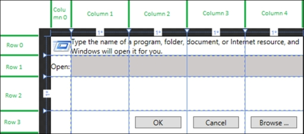 Grid - Blend for Visual Studio 2012 by Example: Beginner's Guide