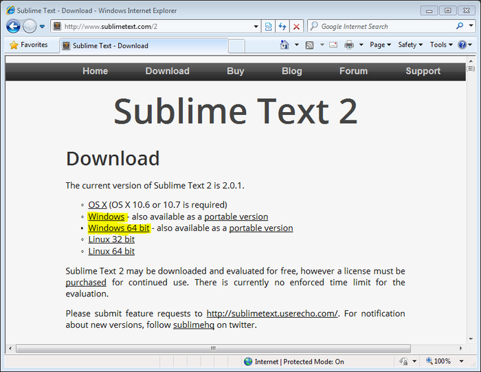 Installation - Instant Sublime Text Starter