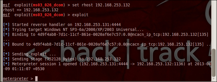 Quick start – your first exploitation! - Instant Metasploit