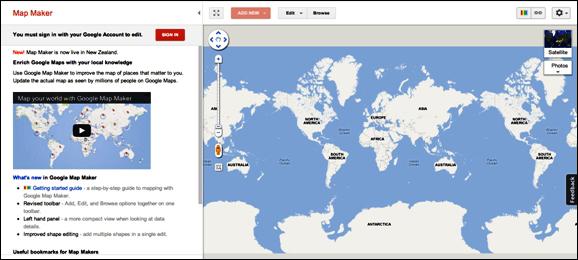 Quick start - Instant Google Map Maker Starter