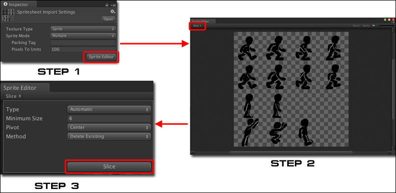 Creating a 2D character and animation - Unity 4 Game
