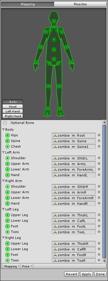 Setting up the project - Unity Character Animation with Mecanim