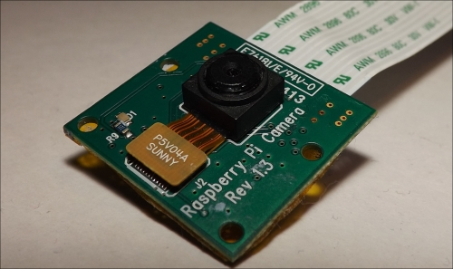 Getting started with the Raspberry Pi camera module