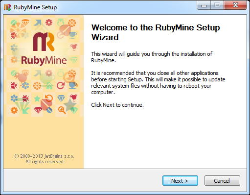 First contact – installing Ruby and RubyMine (Must know) - Instant