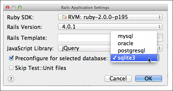 Creating your first progeny (Should know) - Instant RubyMine