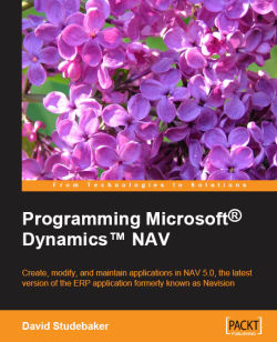 Programming Microsoft Dynamics NAV
