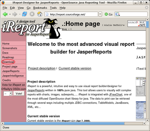 Obtaining iReport - JasperReports for Java Developers
